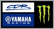 CDR Yamaha Monster Energy Team Logo