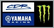 CDR Yamaha Monster Energy Team Logo