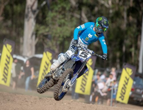 Gibbs Leads CDR Yamaha Monster Energy Charge at Gympie